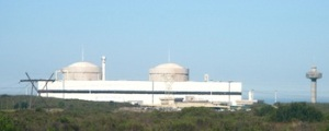 The Koeberg nuclear power station near Cape Town
