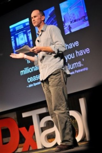 Speaking at TEDxTableMountain, 27 May 2012: 'The case for the maximum wage'