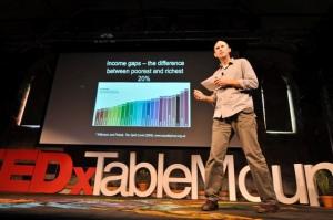 David Le Page speaking at TEDxTableMountain, May 2012